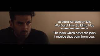 Tum Se Hi - Ankit Tiwari & Leena Bose - Sadak 2 (2020) - Lyrical Video With Translation