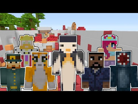 Minecraft Xbox - YouTuber Dash Parkour Map (Parkour Challenge)