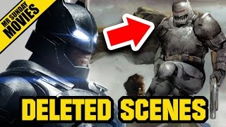 BATMAN V SUPERMAN Deleted Scenes, Extended Cut & Missing Characters