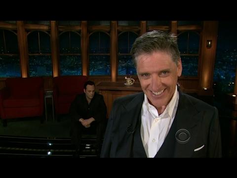 Late Late Show with Craig Ferguson 7/26/2012 Emile Hirsch, Ariel Tweto