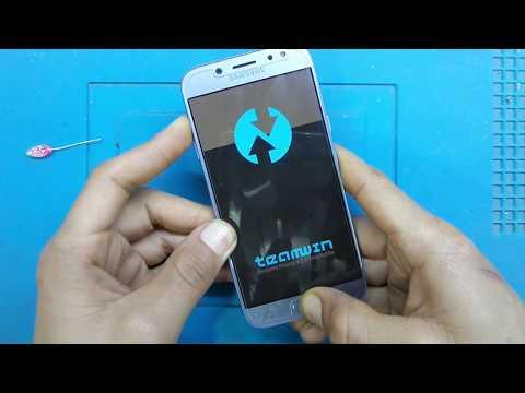 ريكفري معدل 8 1 0 samsung j530f TWRP recovery android - YouTube