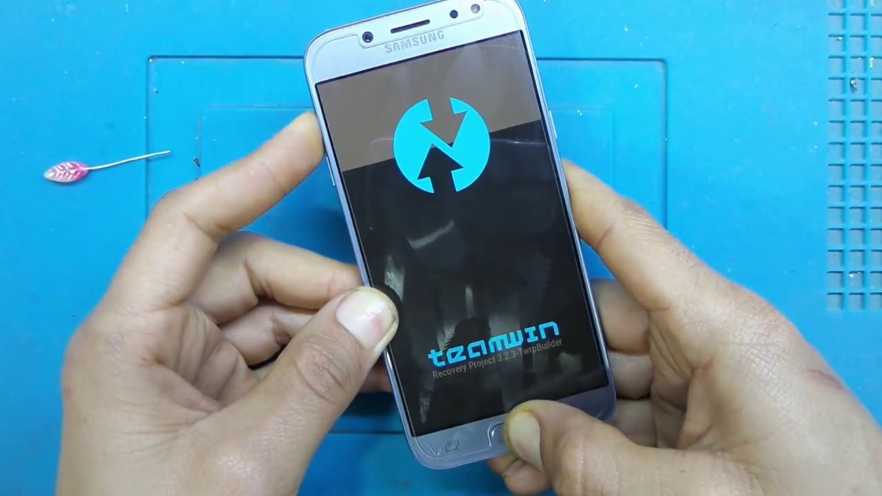 ريكفري معدل 8 1 0 samsung j530f TWRP recovery android