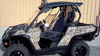 2013 Can-Am COMMANDER CAMO 1000 XT STREET LEGAL @ ALCOA GOOD TIMES