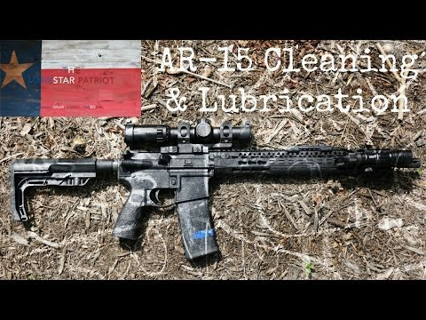 AR-15 Cleaning & Lubrication