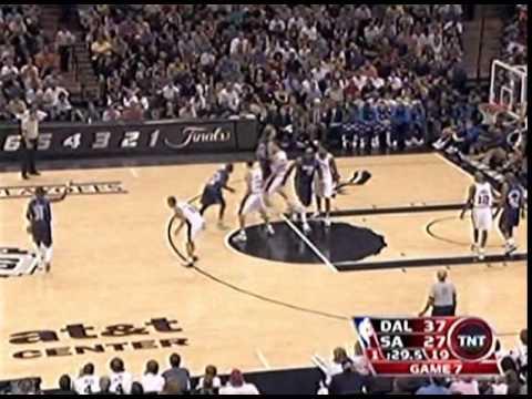 Round 2 Game 7 San Antonio  vs  Dallas NBA 2006 Playoffs 1