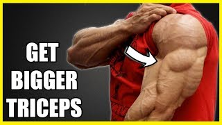 How To Get Bigger Triceps (WARMUP) | Warm Up Exercises Before Workout