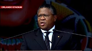 Mbalula pays tribute to Mama Winnie