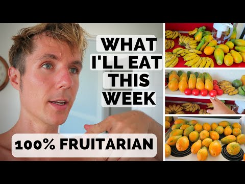 WHAT I'LL EAT THIS WEEK // 100% FRUITARIAN