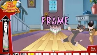 """Tom and Jerry Cartoon Online Games - Tom And Jerry Kids Show """"Bowling Alley Game"""""""