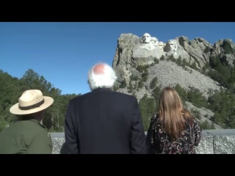 On The Road: Mount Rushmore | Bernie Sanders