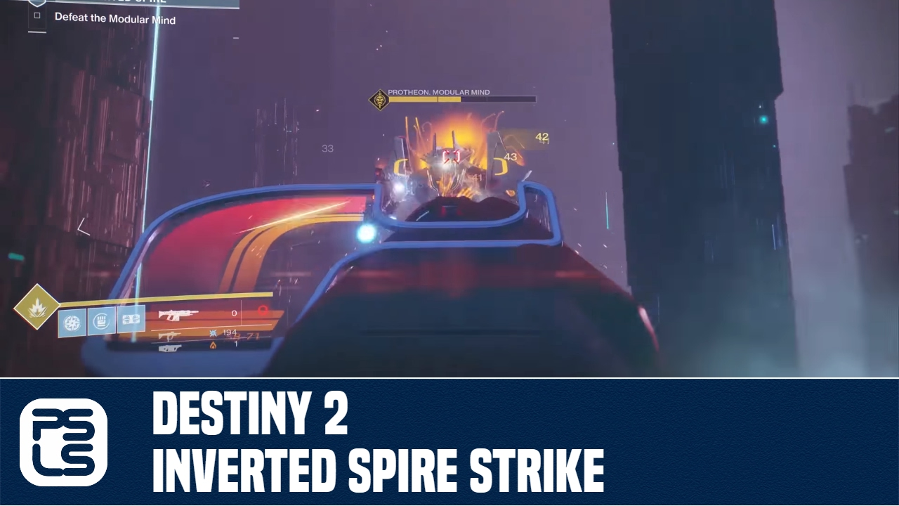 Destiny 2 Strike Preview - Inverted Spire Strike