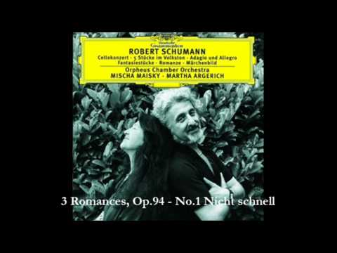 3 Romances, Op.94 - No.1 Nicht schnell - Robert Schumann