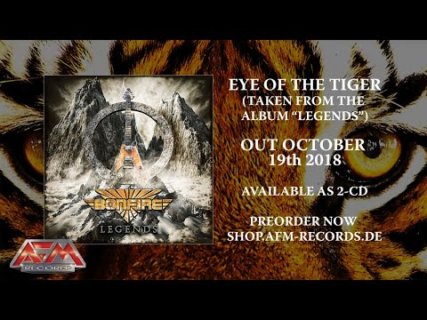 BONFIRE- Eye Of The Tiger (2018) // Offcial Audio Video // AFM Records