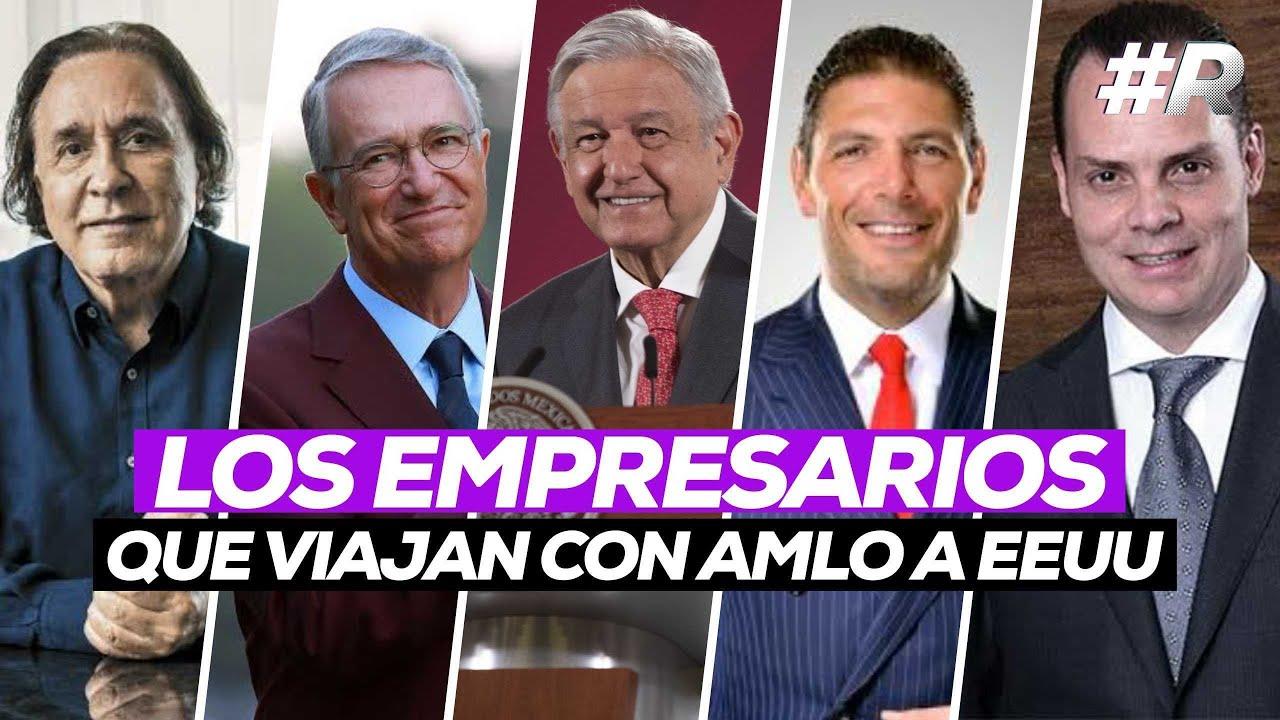 AMLO en Estados Unidos: ellos son los empresarios que lo acompañan