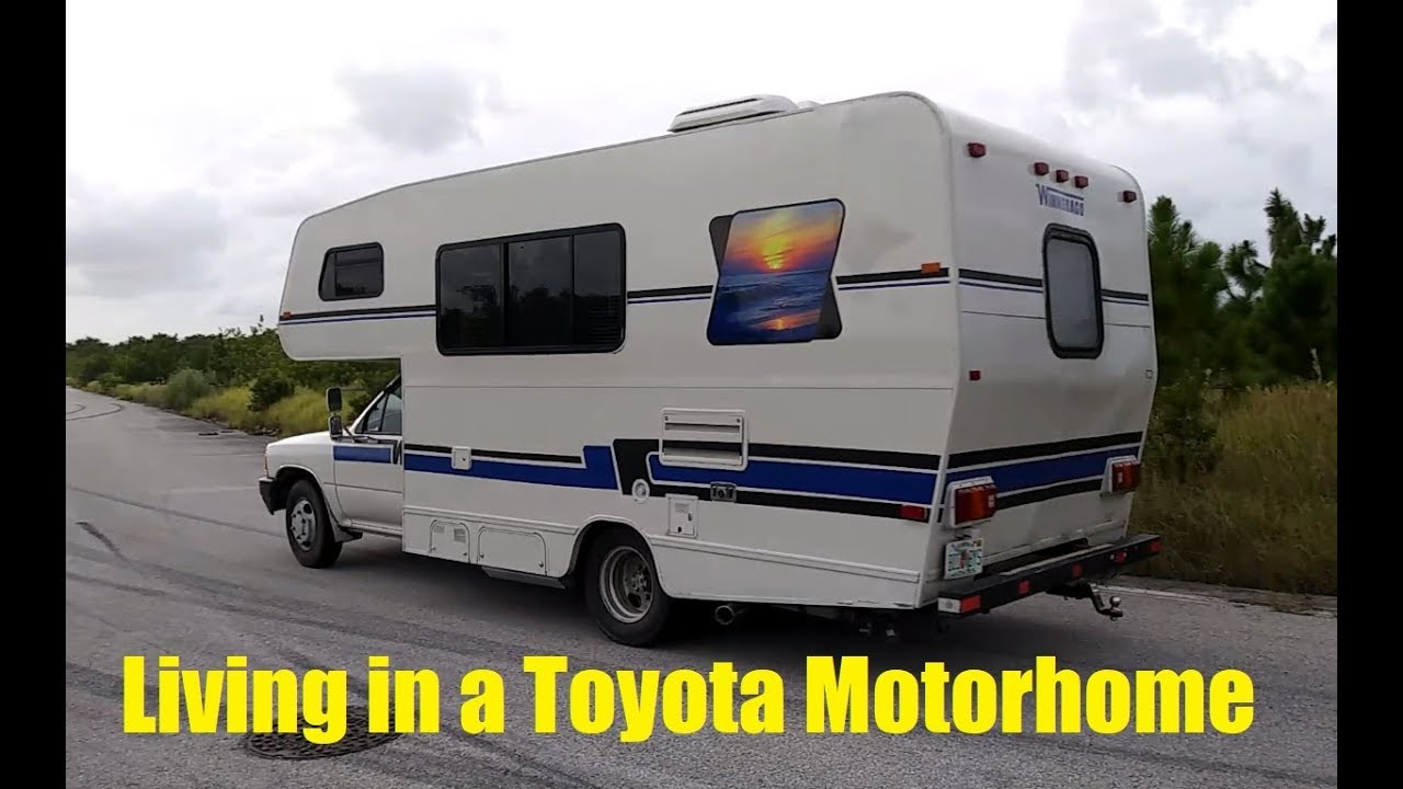 Living In A Toyota Motor Home Question And Answer