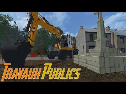 Farming Simulator 15 - Travaux Publics (Solo)