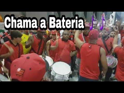 Aquecimento da Bateria da Raça na  Final da Copa do Brasil 2017