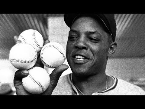 Willie Mays 4 HR Game