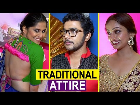 Marathi Actors in Traditional Look - Colors Marathi Gudi Padwa - Sai Tamhankar, Amruta Khanvikar