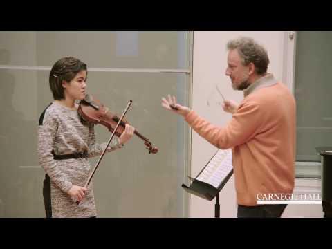 Berliner Philharmoniker Violin Master Class: R. Strauss, Don Juan
