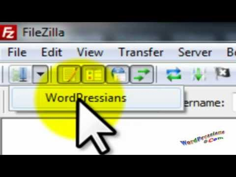 Edit .htaccess file using FileZilla: Redirect WordPress Feed To FeedBurner