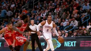 Best of Phantom: Houston Rockets vs Oklahoma City Thunder | 12.09.16