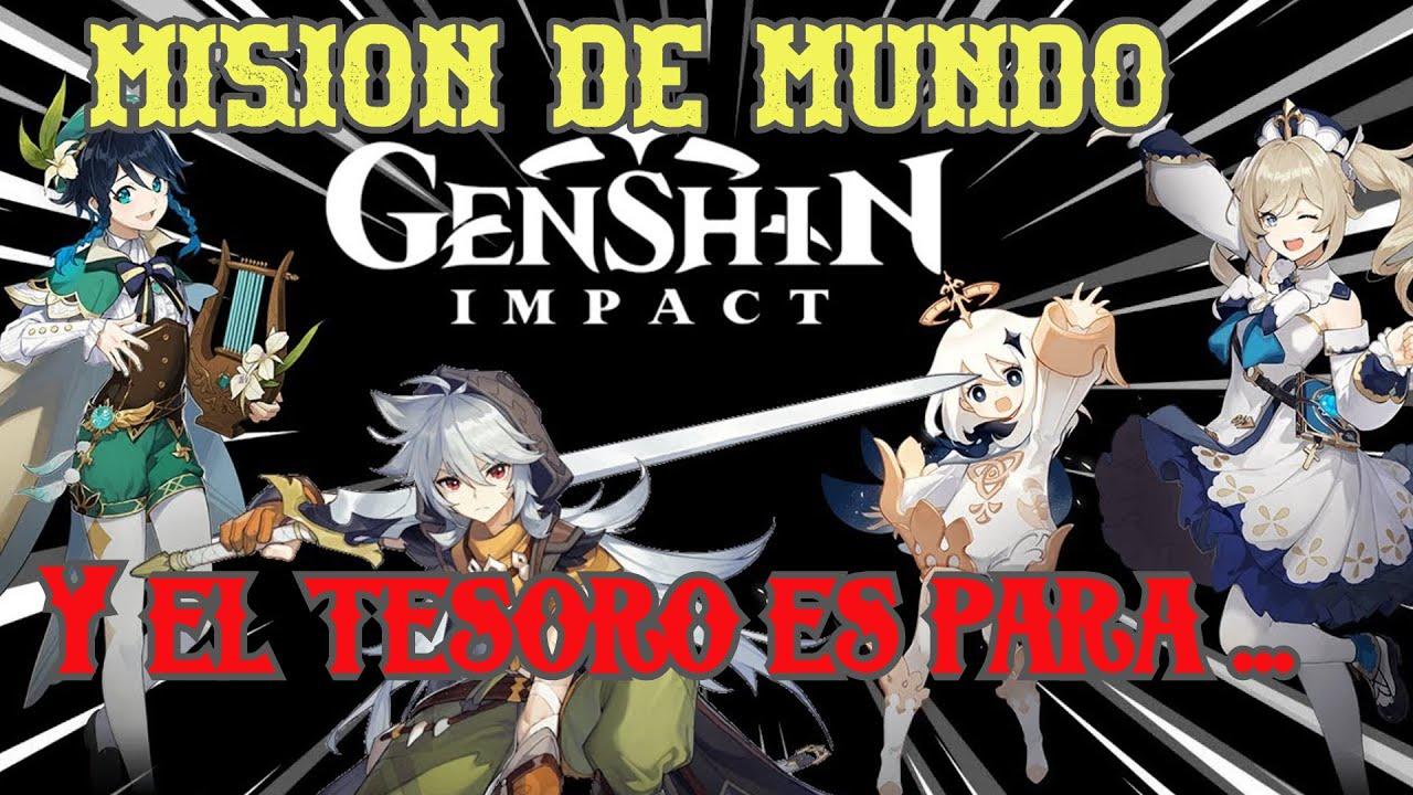 Y El Tesoro Es Para Genshin Impact Youtube