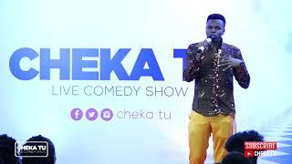 CHEKA TU. Classic Edition. Mr Beneficial kwenye stage.