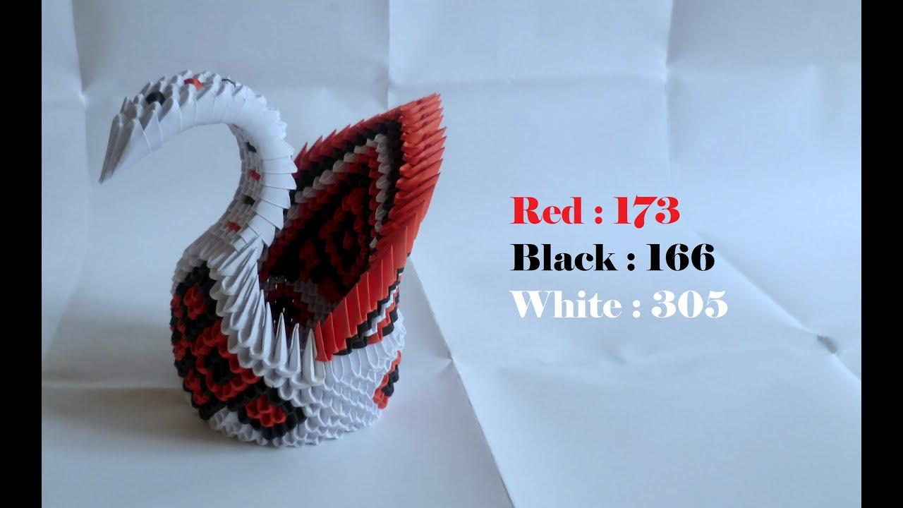 Origami 3D tutorial : Big Swan - YouTube - photo#32