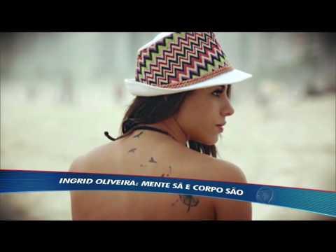 Perto dos Jogos Olímpicos, Ingrid Oliveira treina o corpo e a mente
