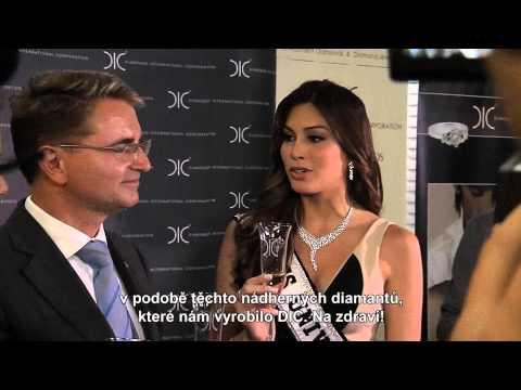 Miss Universe - návštěva ČR