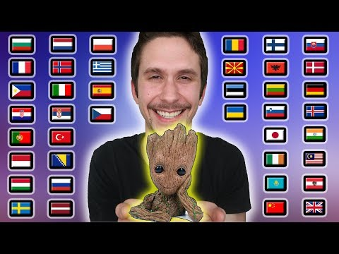 """How To Say """"I AM GROOT!"""" In 40 Different Languages"""