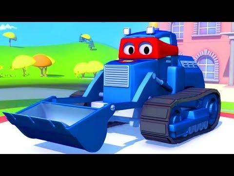 Samochody bajka - Carl Transform i Czołg Karl w Miasto Samochodów