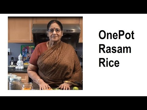 One Pot Rasam Rice in Tamil