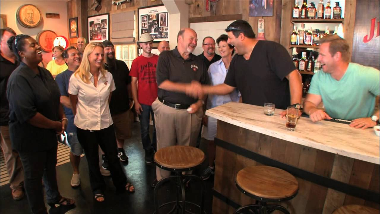 Man Caves Jim Beam : Man caves makes over jim beam garage youtube