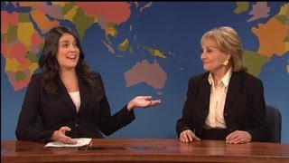 Barbara Walters Spoofs Her Years of Excellence on 'SNL'