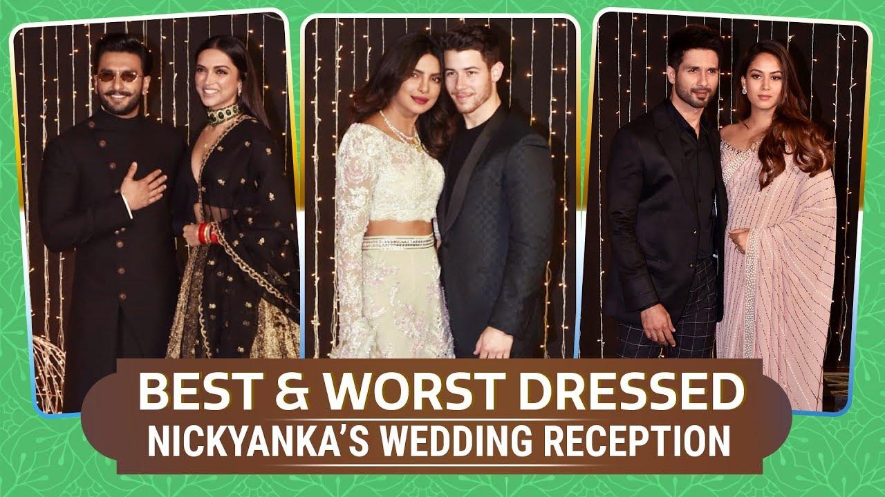 Priyanka Chopra, Deepika Padukone & Katrina Kaif: Best and Worst Dressed at NickYanka's Rec