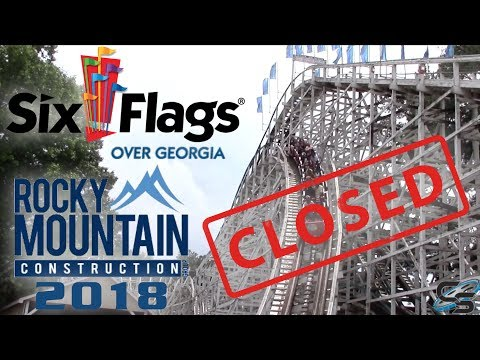 Six Flags Over Georgia 2018 Coaster REVEALED!! Georgia Cyclone Redo!