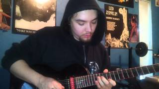 SLAYER-Cleanse the Soul-GUITAR COVER-ALL SOLOS!