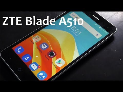 ZTE Blade A510 как сбросить привязку к Google аккаунту