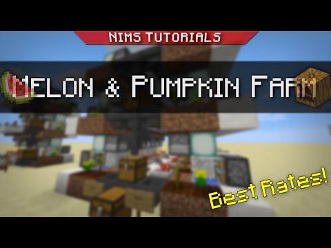 NIMSTUT - Best Automatic Melon/Pumpkin Farm!! (1.8-1.11+)
