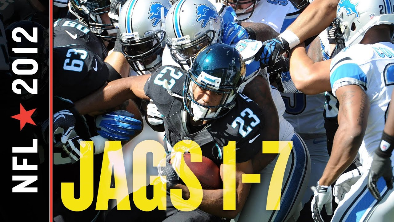 1d20673a Jaguars Fall Behind Three Scores Early to Lions, Fall to 1-7 with 31-14  Week 9 Loss