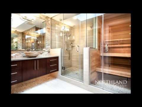 Bathroom with sauna designs