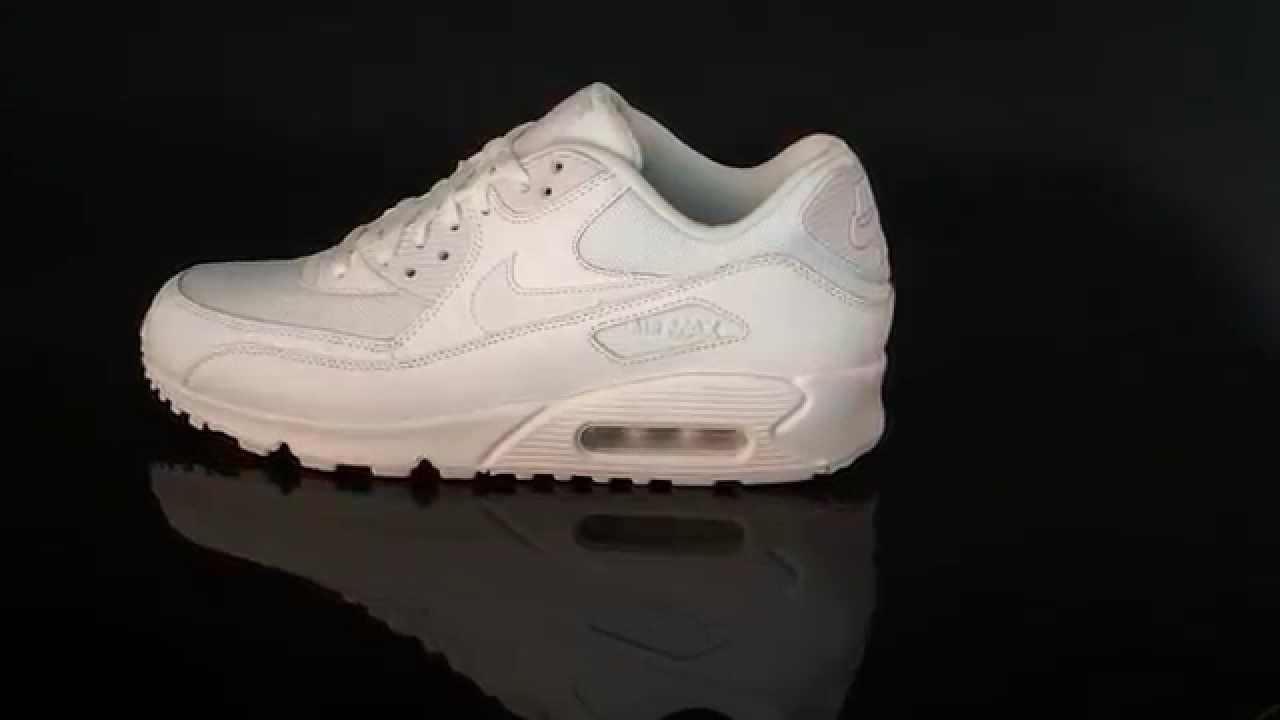 Nike Air Max 90 Essential WhiteWhite 537384 111
