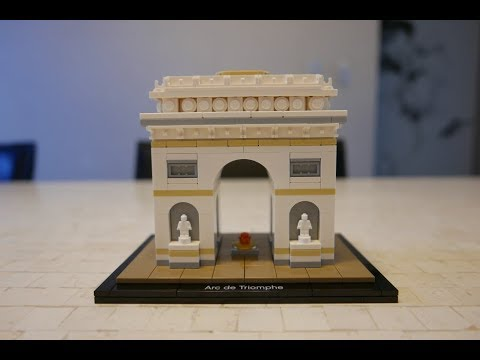 Lego Arc  Speed Build