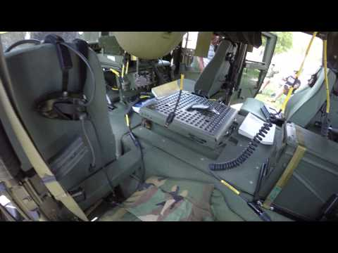 Military M998 Humvee HMMWV Walk-through 4k30 2015 COMVEC