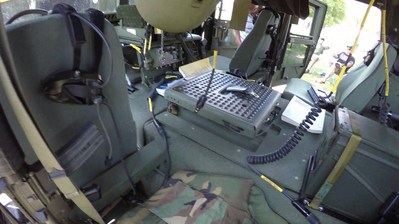 Military M998 Humvee Hmmwv Walk Through 4k30 2015 Comvec