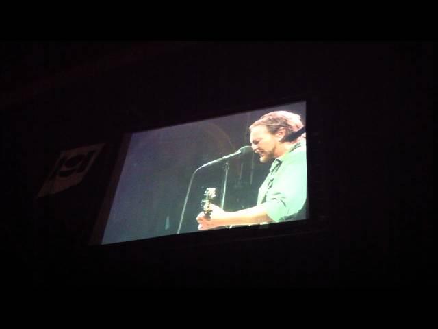 Pearl Jam - Eddie Vedder - So Glad We Made It (Til When It All Got Good)