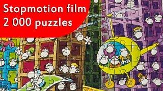 Puzzle - City - Stopmotion film