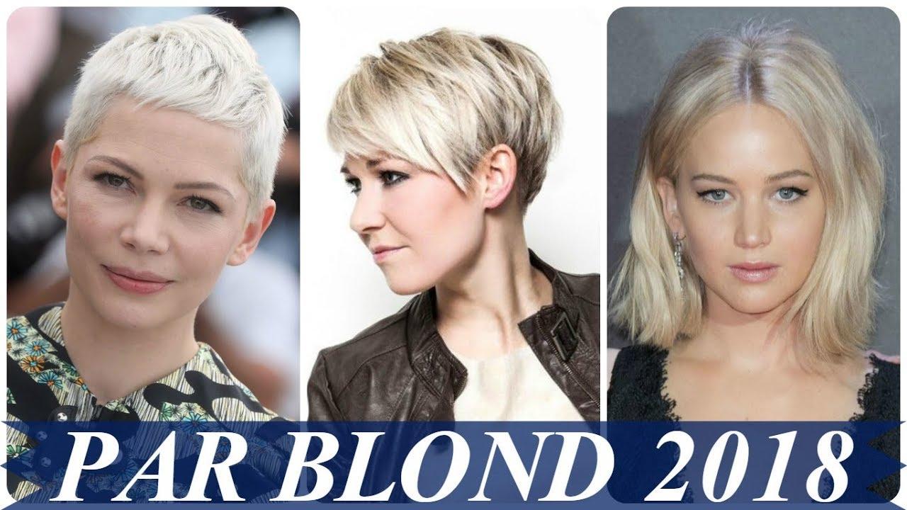 Tunsori Par Scurt Blond 2018